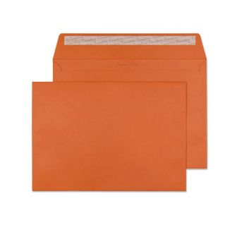 Wallet Peel and Seal Marmalade Orange C4 229x324 120gsm Envelopes