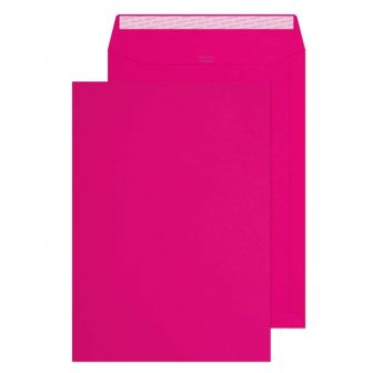 Pocket Peel and Seal Shocking Pink C4 324x229mm 120gsm Pk10 Envelopes