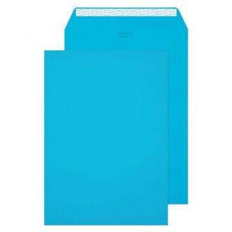 Pocket Peel and Seal Caribbean Blue C4 324x229 120gsm Pk10 Envelopes