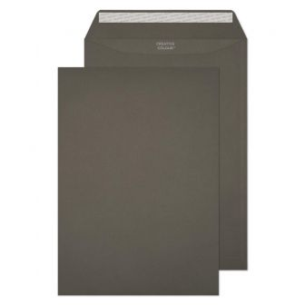 Pocket Peel and Seal Graphite Grey C4 324x229 120gsm Pk10 Envelopes