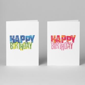 Circus, Happy Birthday Cards, A6, Pack of 10