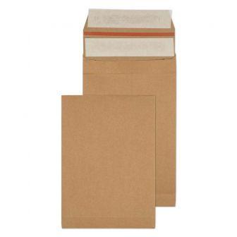 Kraft Mailing Expansion Pkt P/S 229x162x40 130gsm