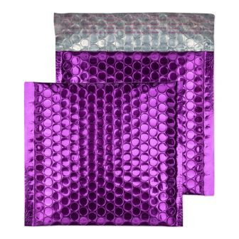 Padded Bubble Wallet Peel and Seal Purple Grape CD 165x165