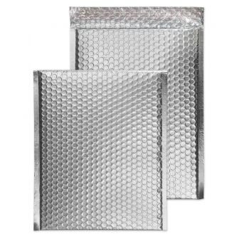 Padded Bubble Pocket Peel and Seal Metallic SIlver C4 320x240