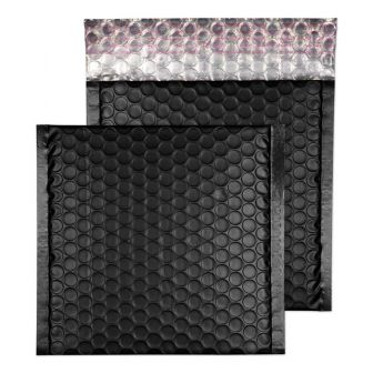 Padded Bubble Wallet Peel and Seal Jet Black CD 165x165