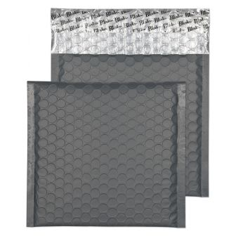 Padded Bubble Wallet Peel and Seal Graphite Grey CD 165x165