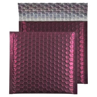 Metallic Bubble Padded Wallet Peel and Seal Bordeaux BX100 165x165