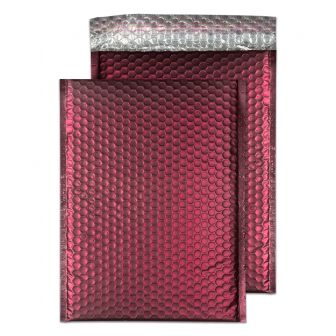 Padded Bubble Pocket Peel and Seal Bordeaux C4 320x240