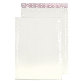 Neon Gloss Padded Pocket Peel and Seal White BX100 340x240