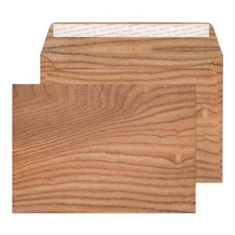 Wallet Peel and Seal Polished Oak C5 162x229 135gsm Envelopes