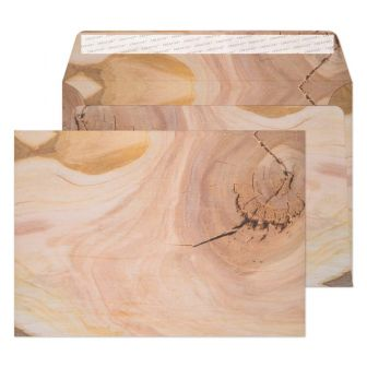 Wallet Peel and Seal Natural English Oak C5 162x229 135gsm Envelopes