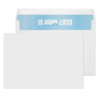 Nature First Wallet Self Seal White C5 162x229 90gsm Envelopes