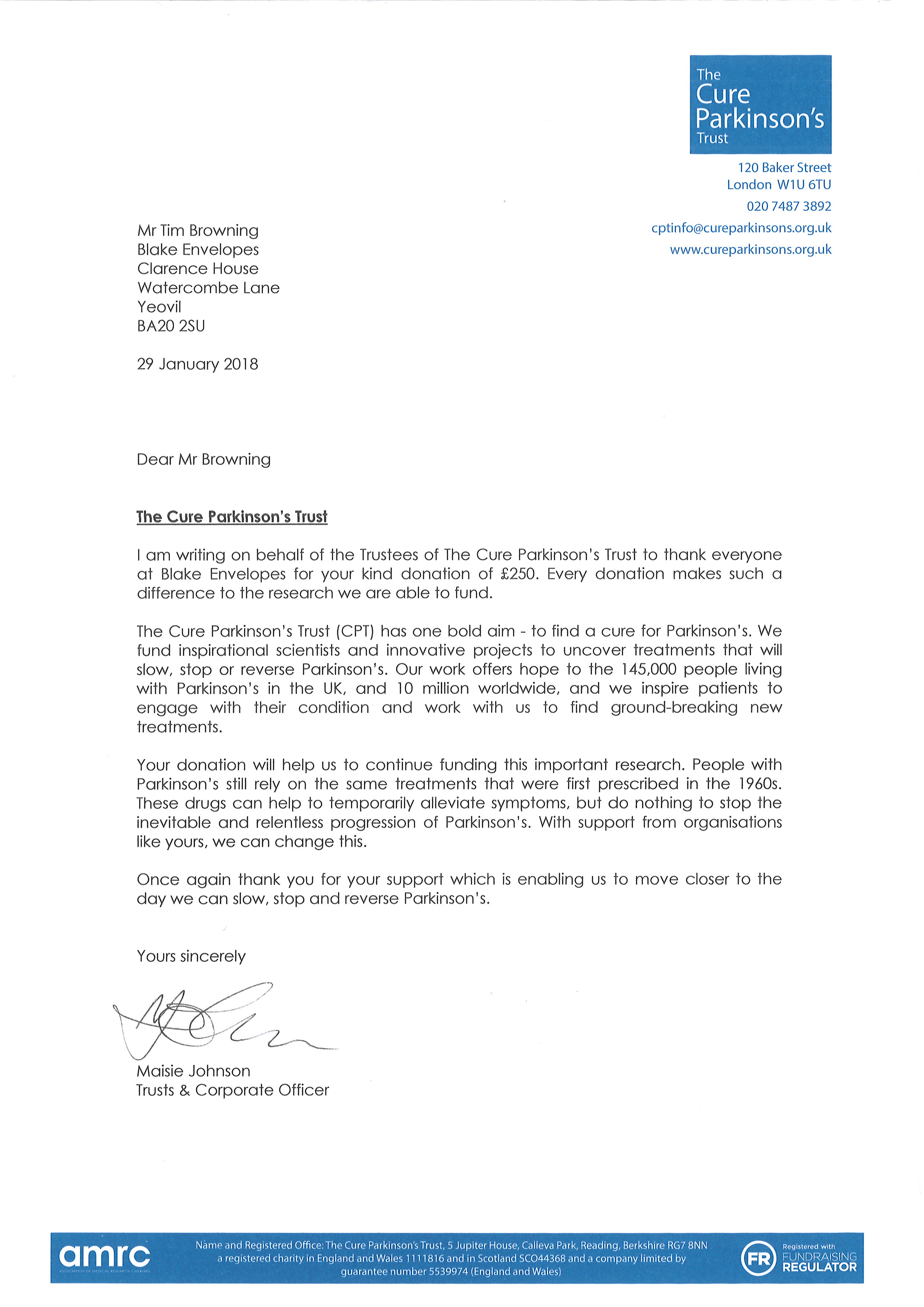 View Letter