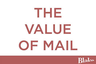 The Value of Mail