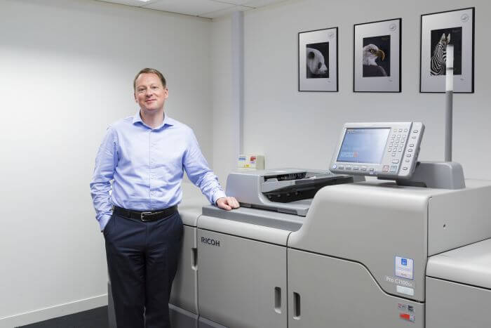 Blake and Ricoh join forces at Drupa