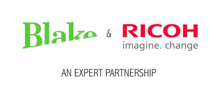 Blake and Ricoh showcase their expert partnership with new video