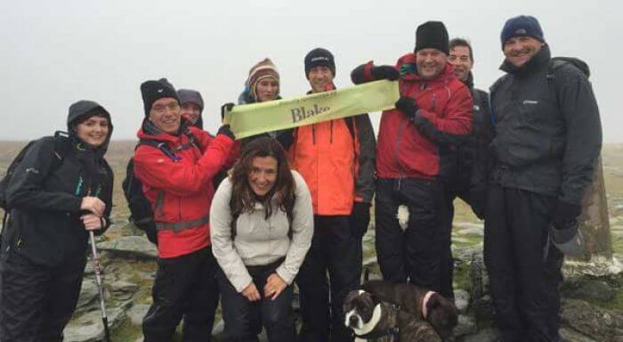 Blake Staff Take On the Climb of Life