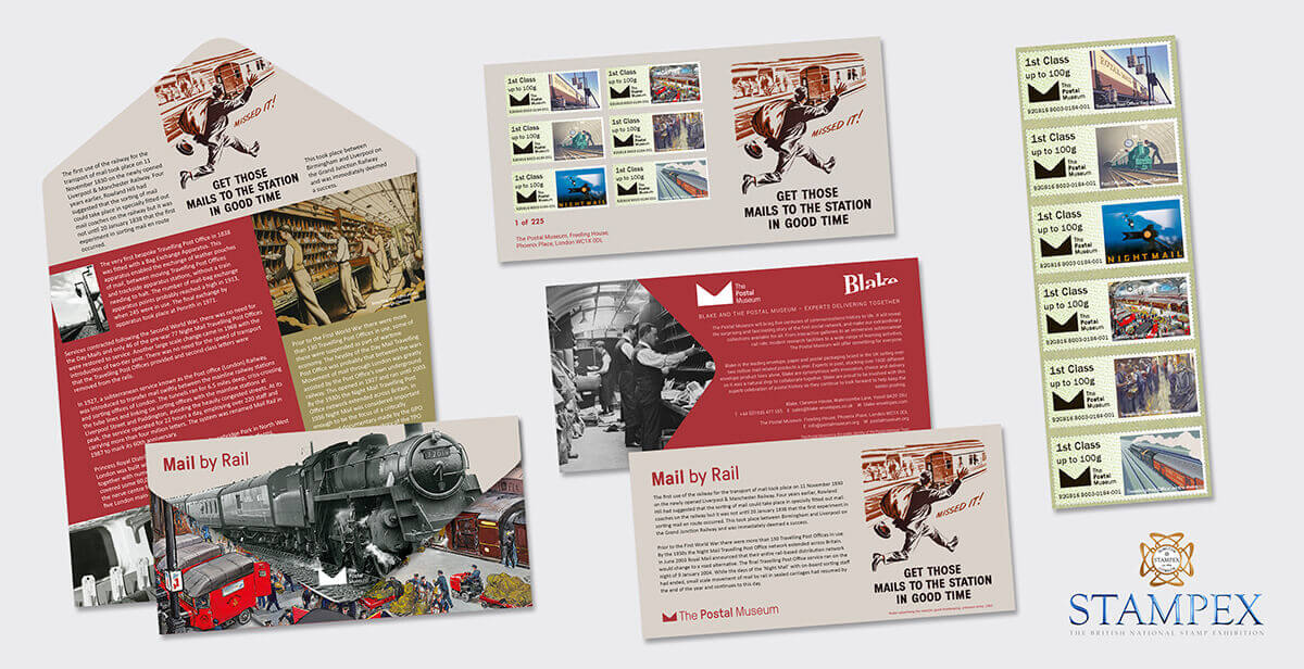 Blake and The Postal Museum team up to produce limited edition Post & Go products
