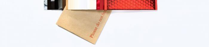 More than envelopes...