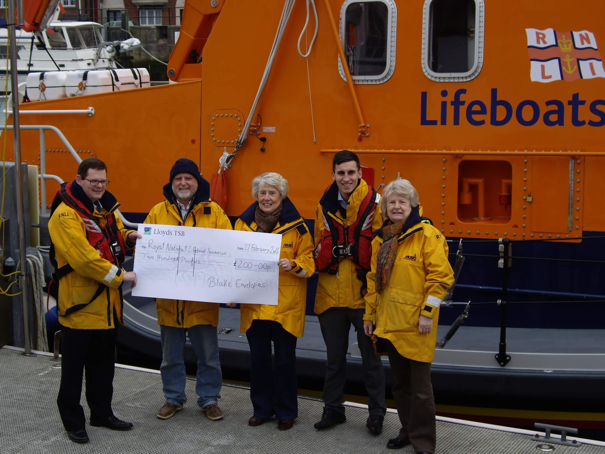 Supporting our local lifeboats