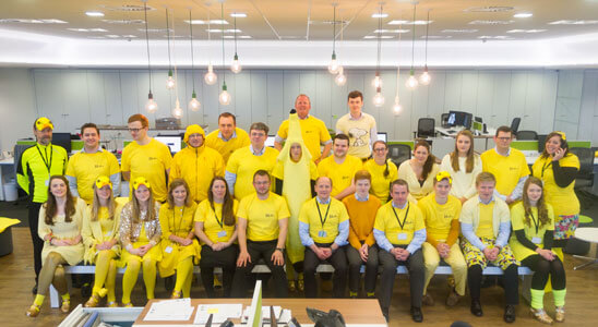 Dare to Wear Yellow Blitz Day!