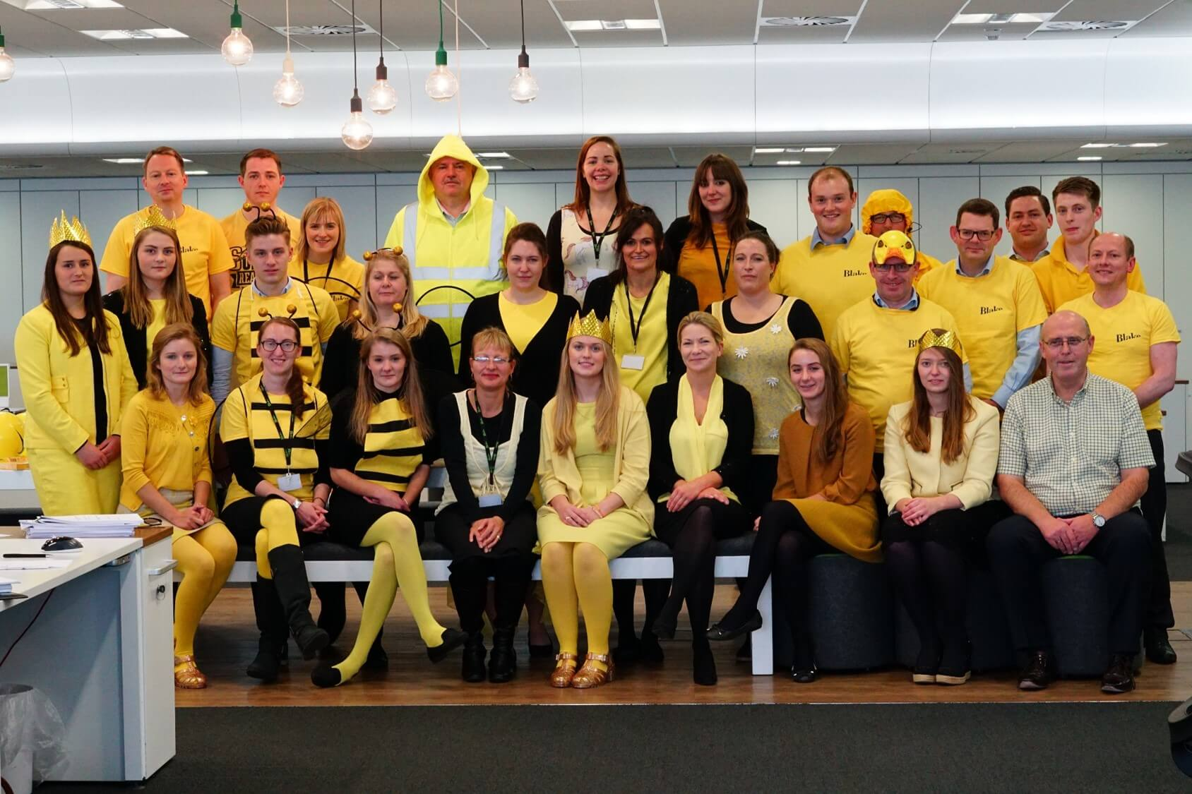 Dare to wear yellow day!