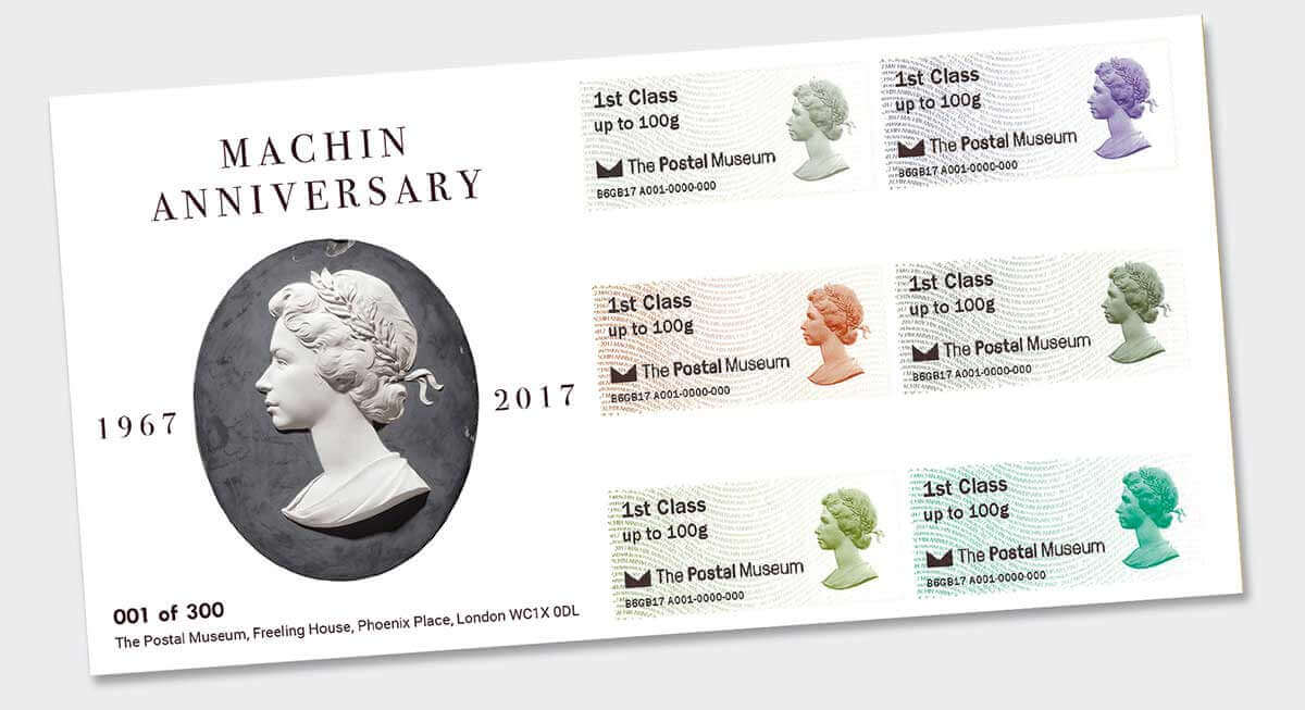 Machin First Day Cover Design