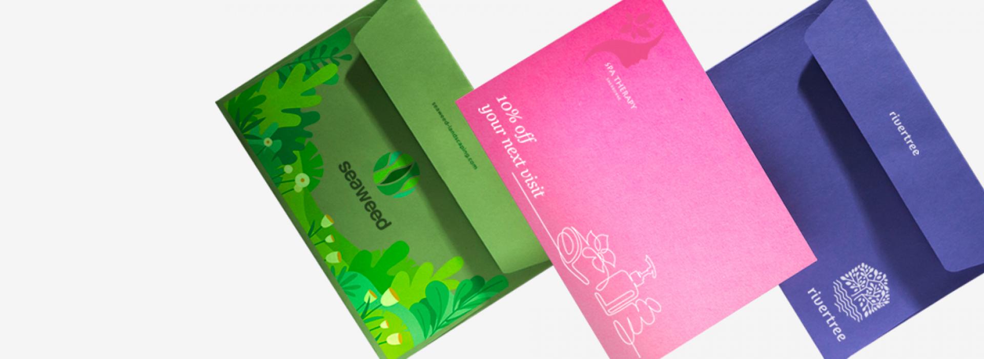 Web to Print Personalised Printed Envelopes