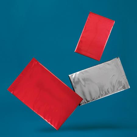 Creative Shine Metallic Foil Envelopes