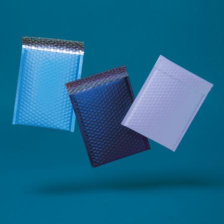 Metallic Matt Padded Bubble Envelopes