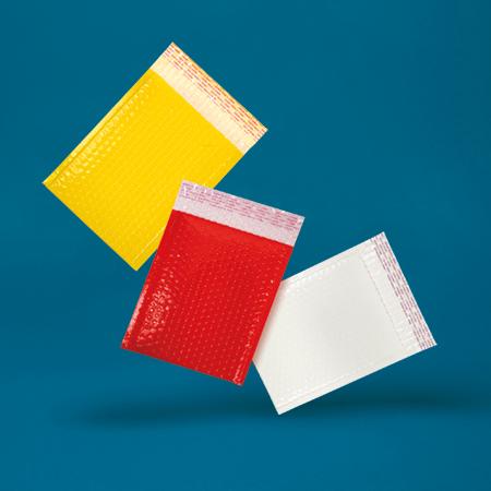 Neon Gloss Padded Bubble Envelopes