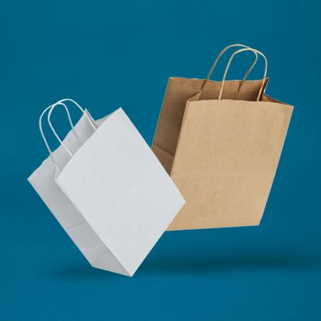 VITA™ Twist Handle Paper Carrier Bags