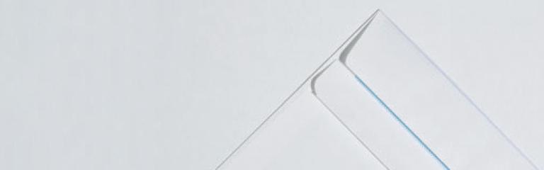 Commercial White Envelopes