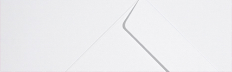 Ice White Wove Envelopes