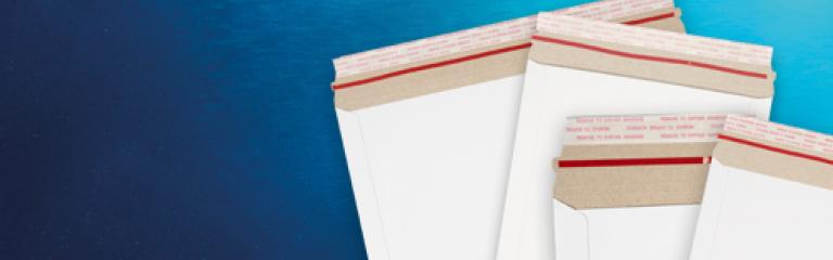 VITA White Allboard Envelopes