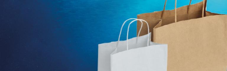 VITA Twist Handle Paper Carrier Bags