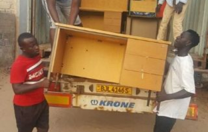 Blake's Container Reaches The Gambia!