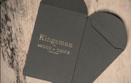 CASE STUDY: Higgs & Crick Foiled Envelopes