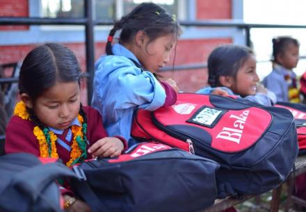Blake Support Nepalese Shree Ganesh School
