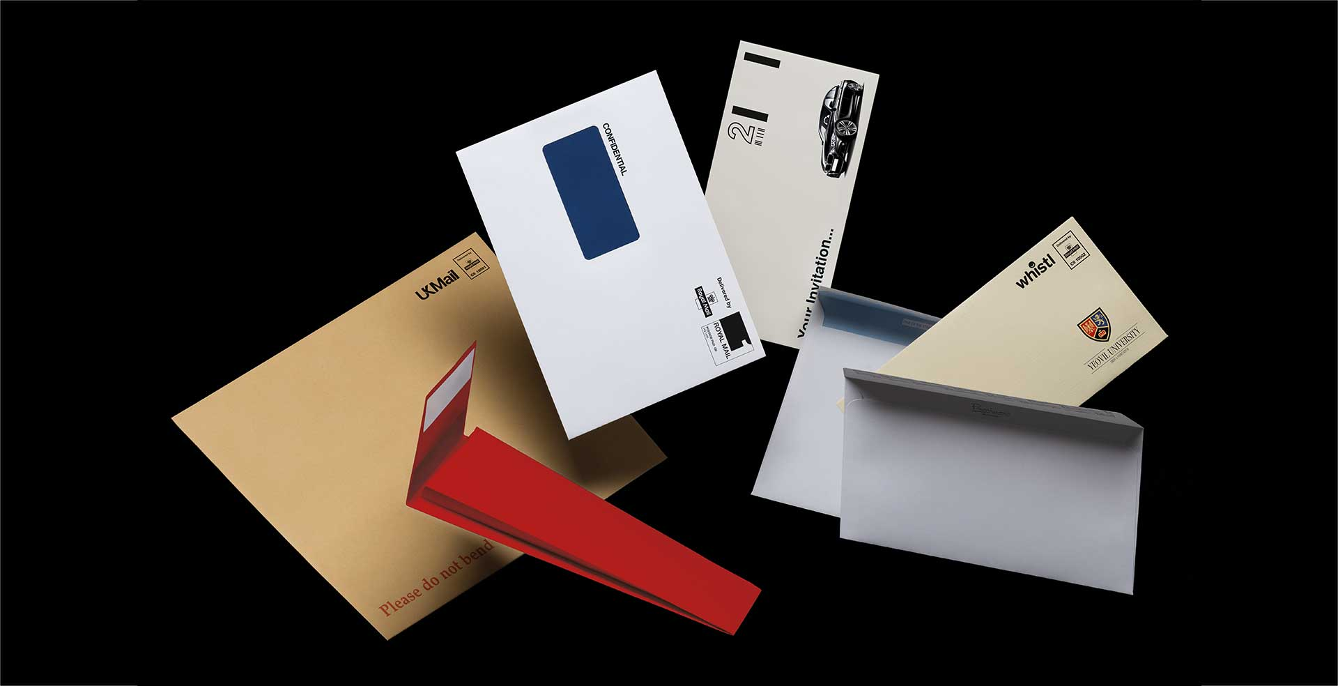 Blake bespoke envelopes