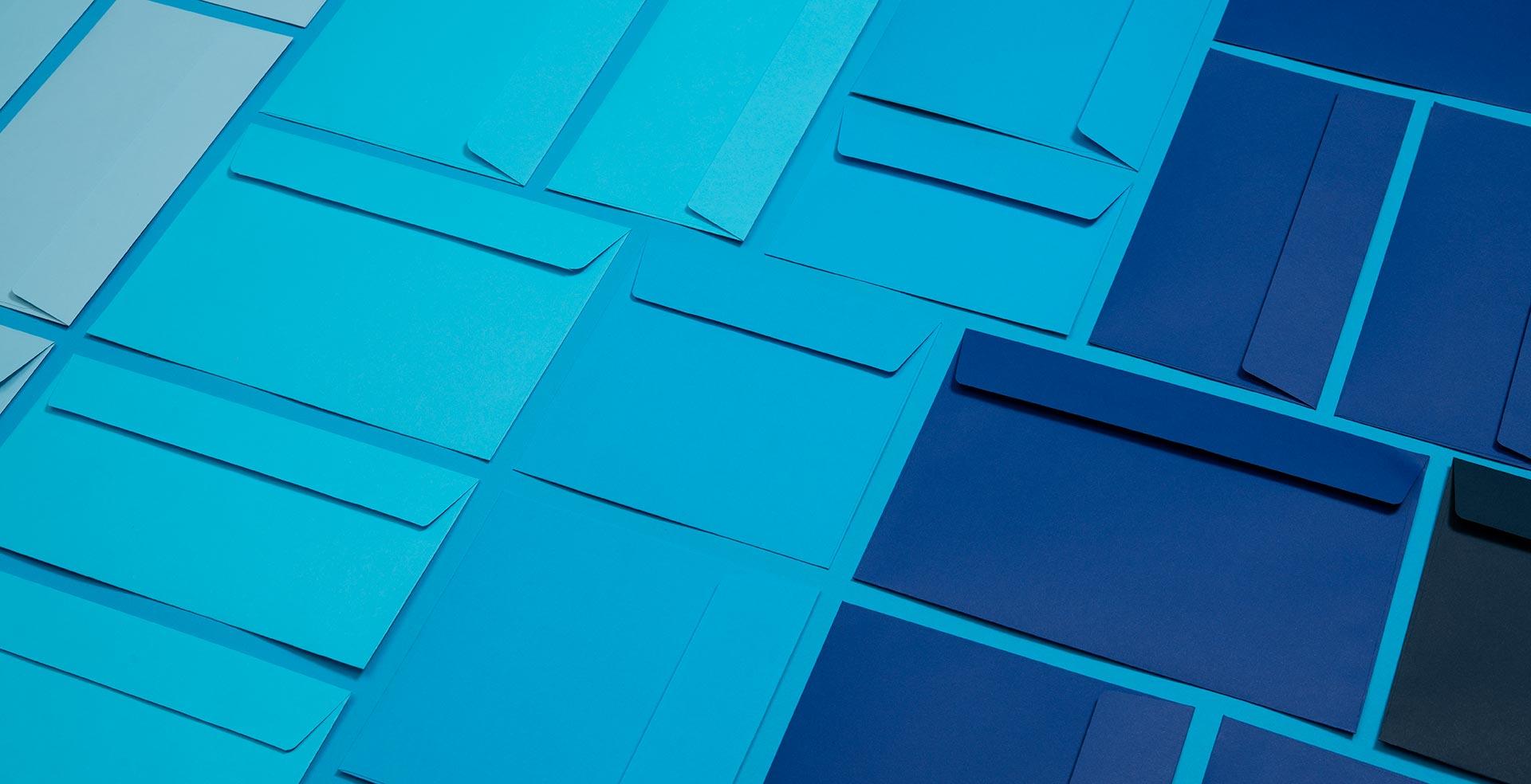 Blake Creative Colour Blue Envelopes