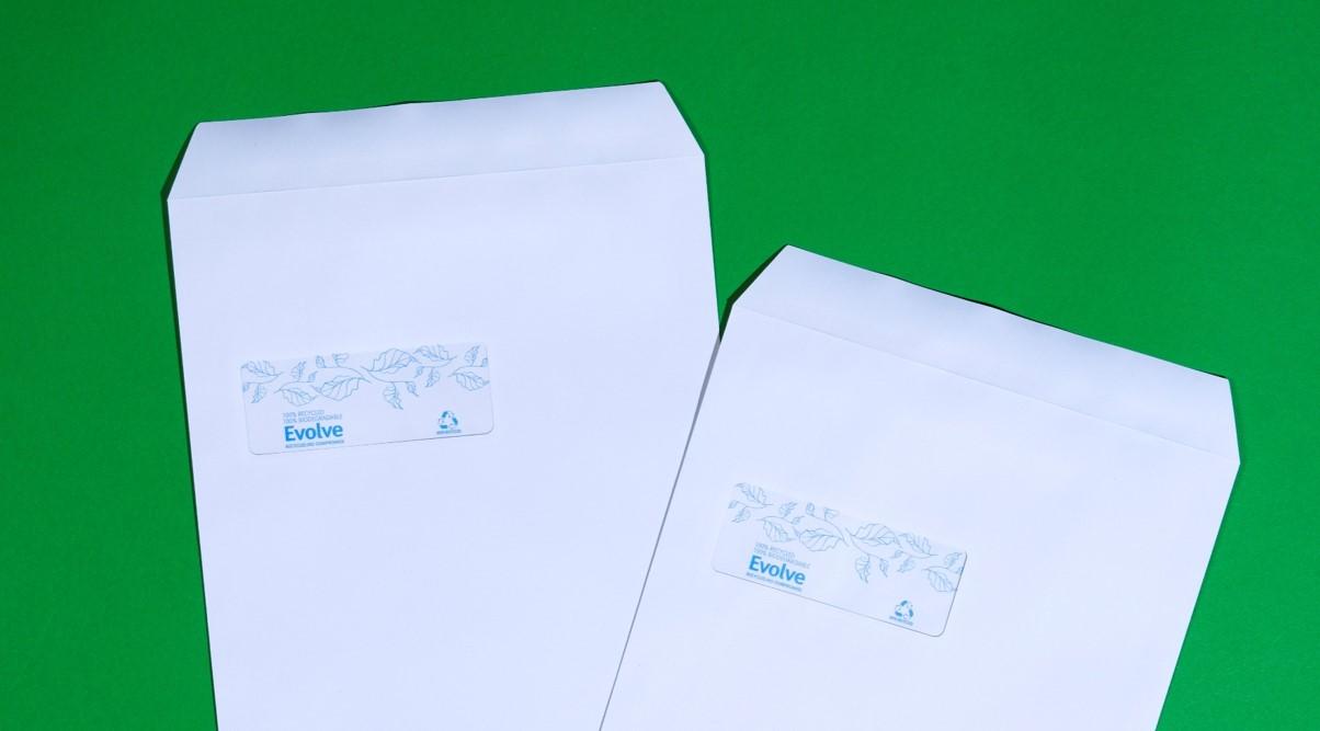 Evolve Recyled Envelopes