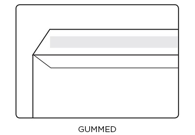 Gummed Envelope Diagram