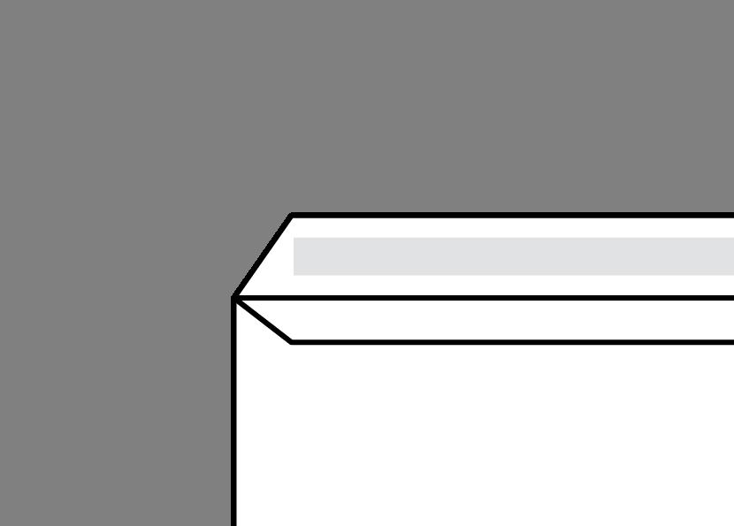 Gummed Envelope Diagram
