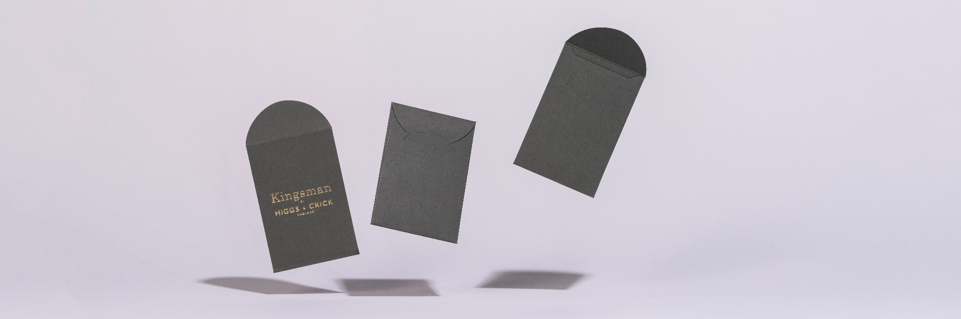 Higgs and Crick bespoke made envelopes