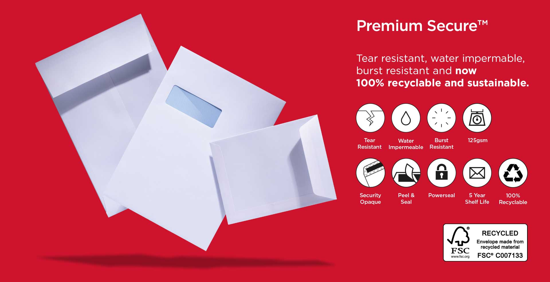 Premium Secure Untearable Envelopes