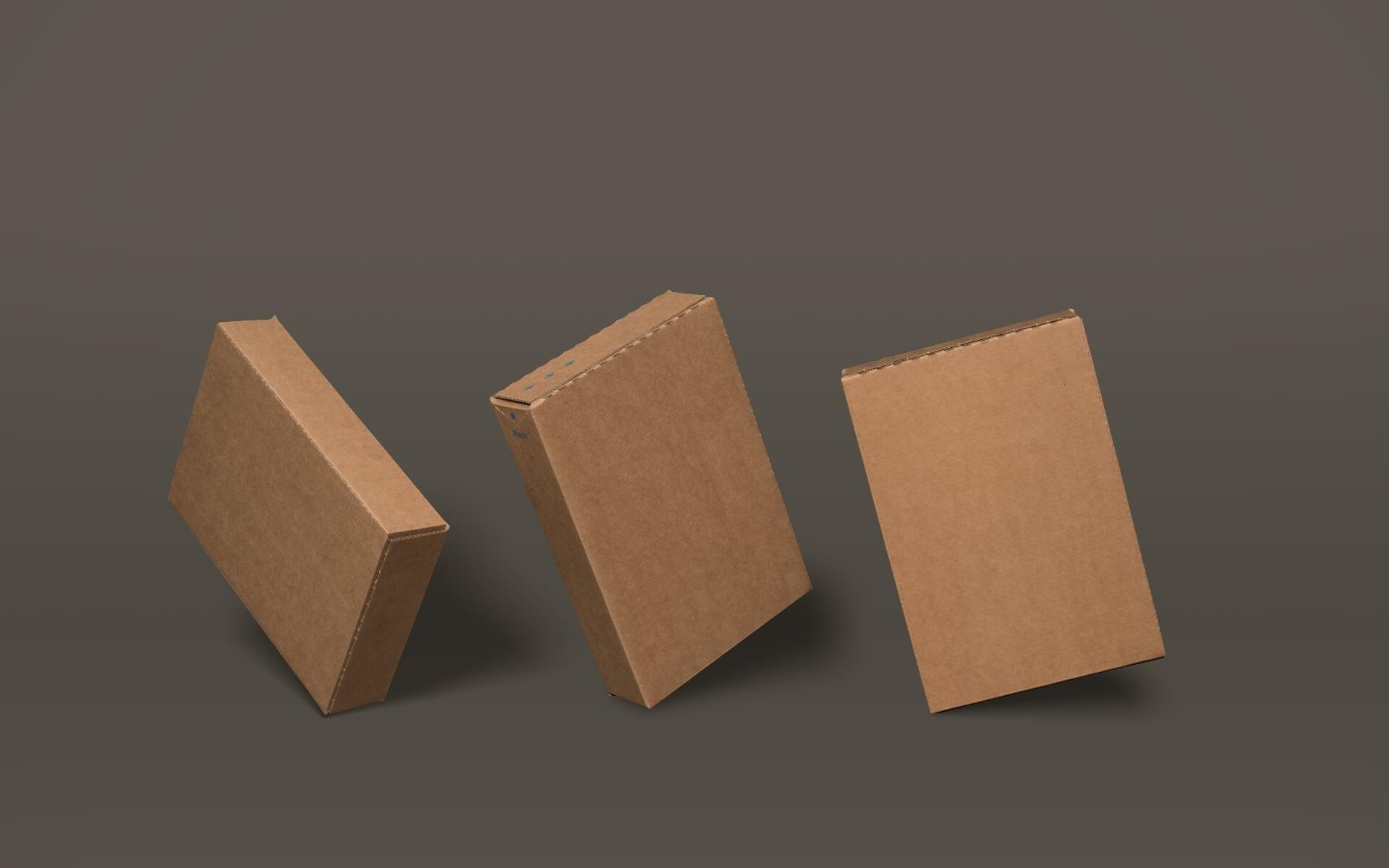 Slimline boxes
