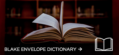 Blake Envelope Dictionary