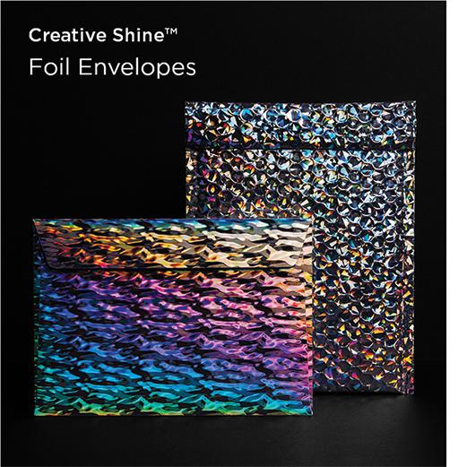 Holographic Foil Envelope Favourites