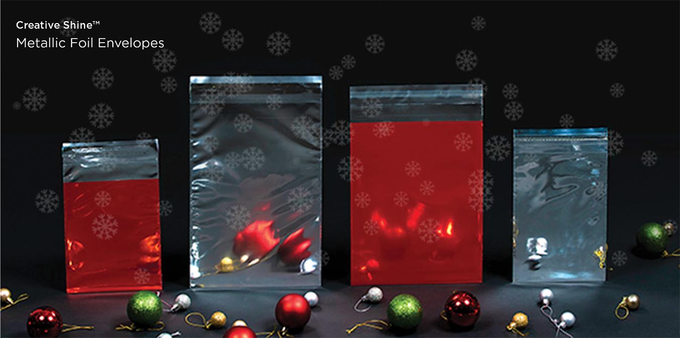 Christmas Metallic Foil Favourites